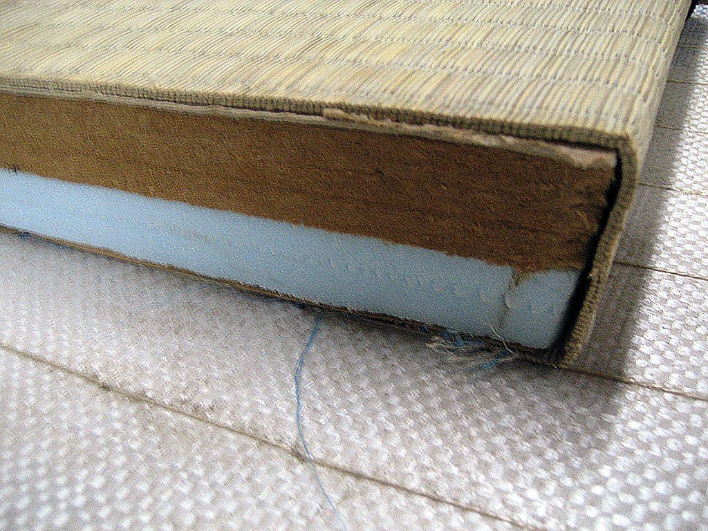 畳の断面図 建材床2型タイプ